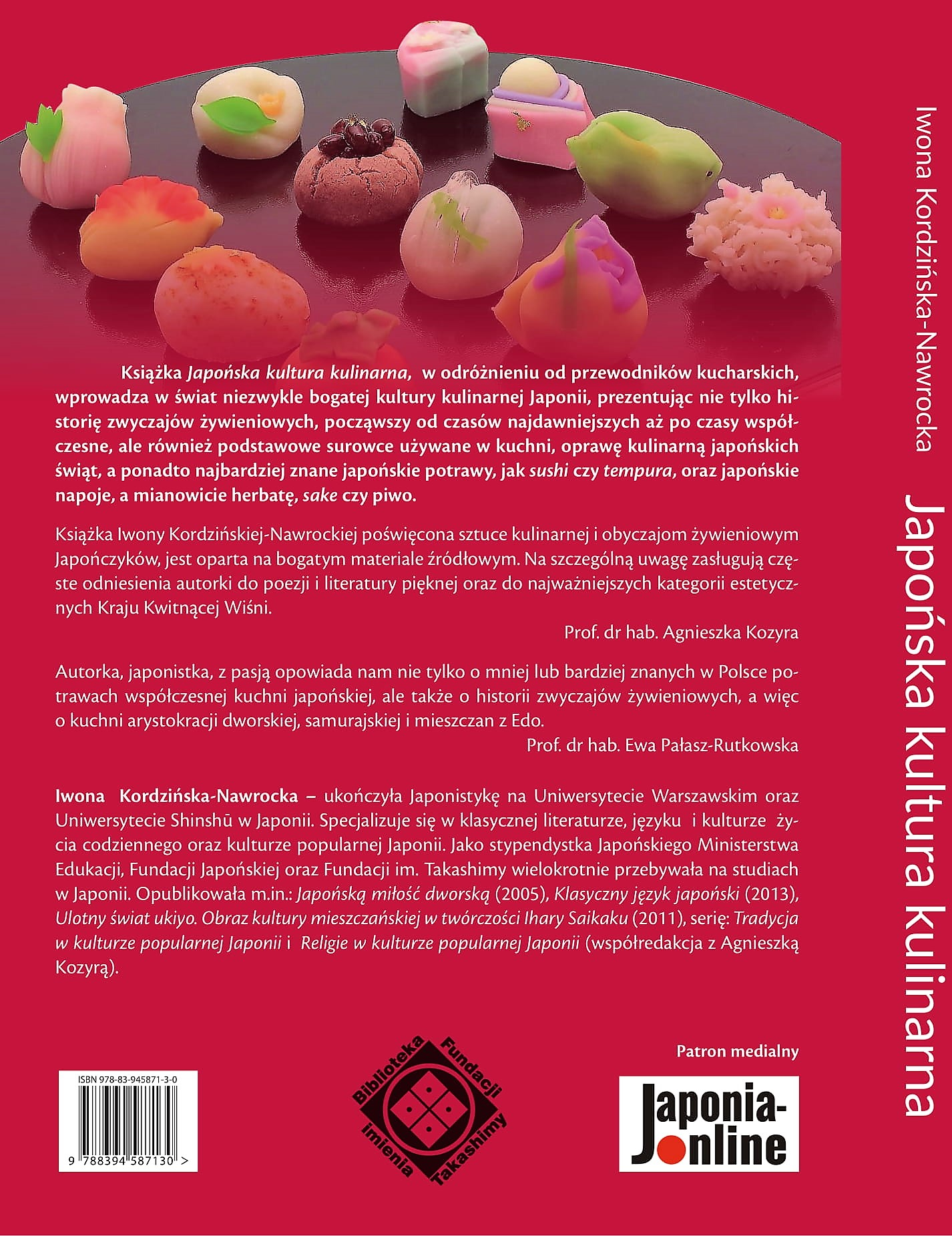 Iwona Kordzinska Nawrocka Japonska Kultura Kulinarna Pdf 25 Zl I